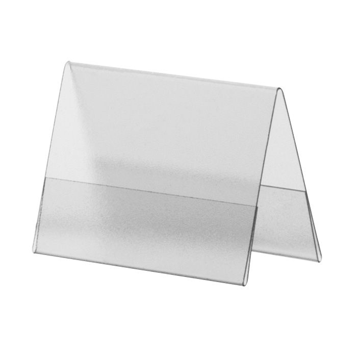 Porte-visuel PVC rigide –Transparent antireflet – A9 – Paysage - Lot de 10