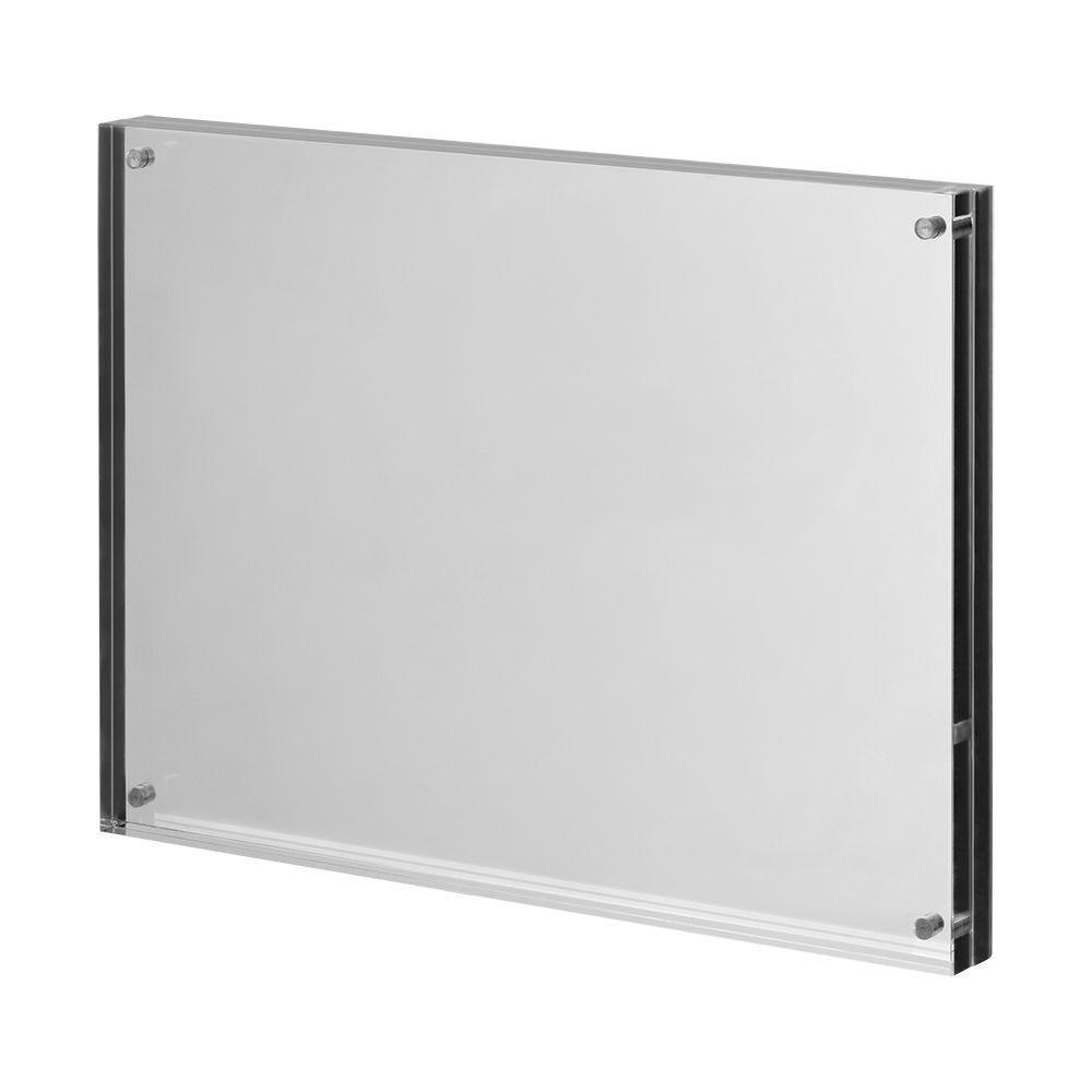 Cadre photo en verre acrylique 'Magnetica' pour format A5