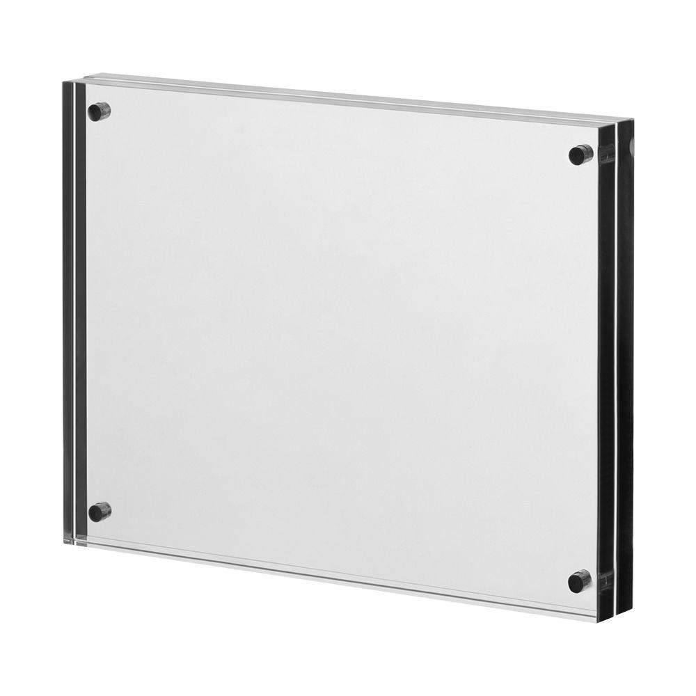 Cadre photo en verre acrylique 'Magnetica' pour format A6