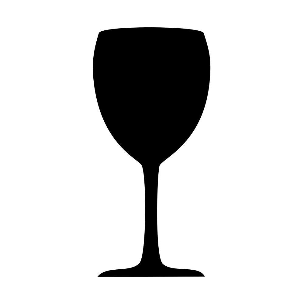 Ardoise ''gastronomie'' verre
