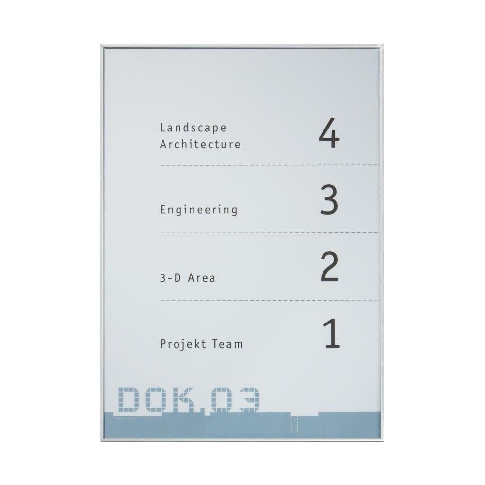 Panneau de porte ''new age'' 150 x 150 mm (l x h) à clé (photo)