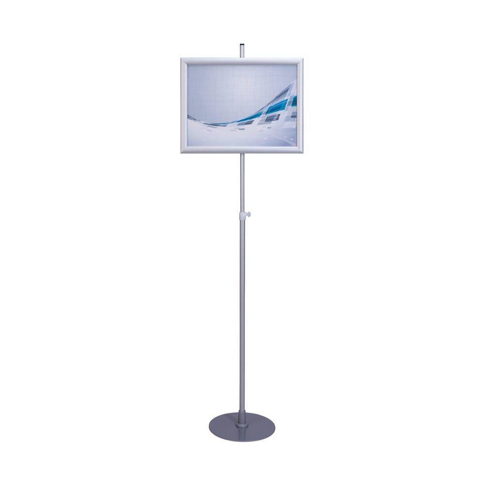 Porte-affiche téléscopique ''como'' avec cadre a3 (297 x 420 mm) paysage