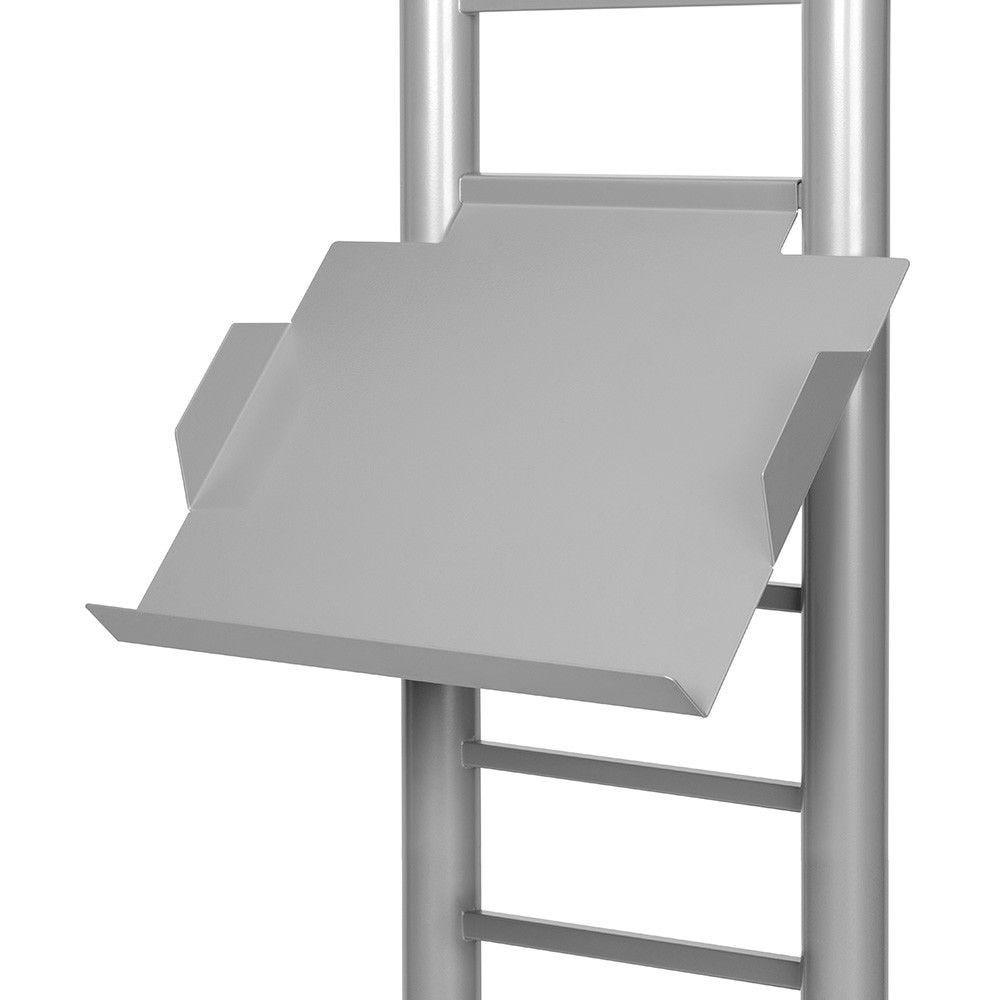 Tablette pour colonne porte-brochures force (ref 54.0121.1)