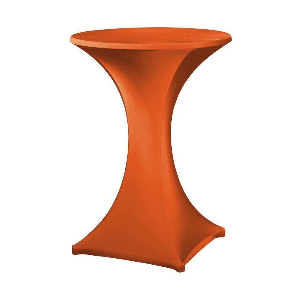 Housse pour table haute ''galactica'' orange, table haute de diam. Max 850 mm (photo)