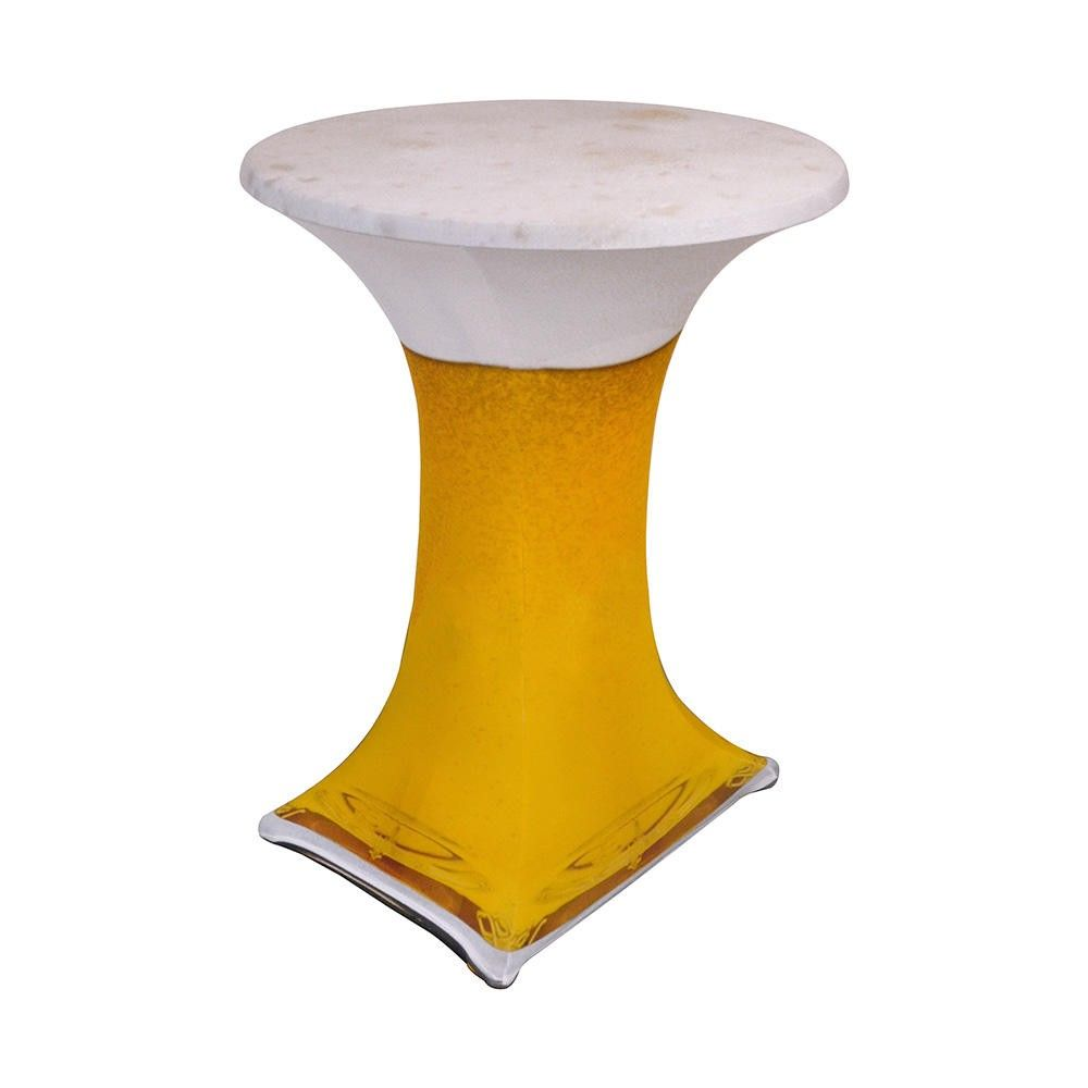 Housse ''samba'' pour table haute ; table hautes diam. 800-850 mm (photo)