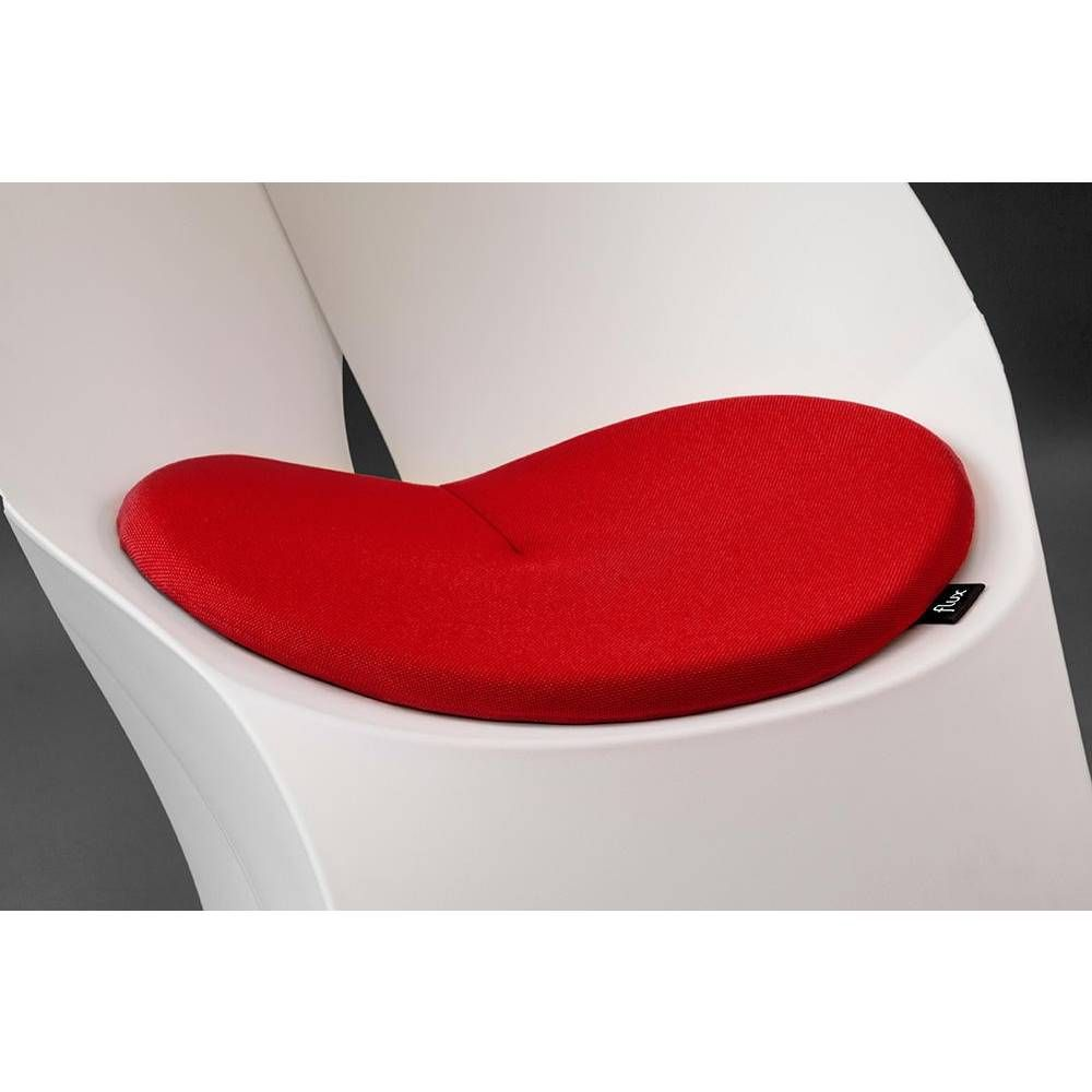 Coussin pour flux chair rouge (photo)