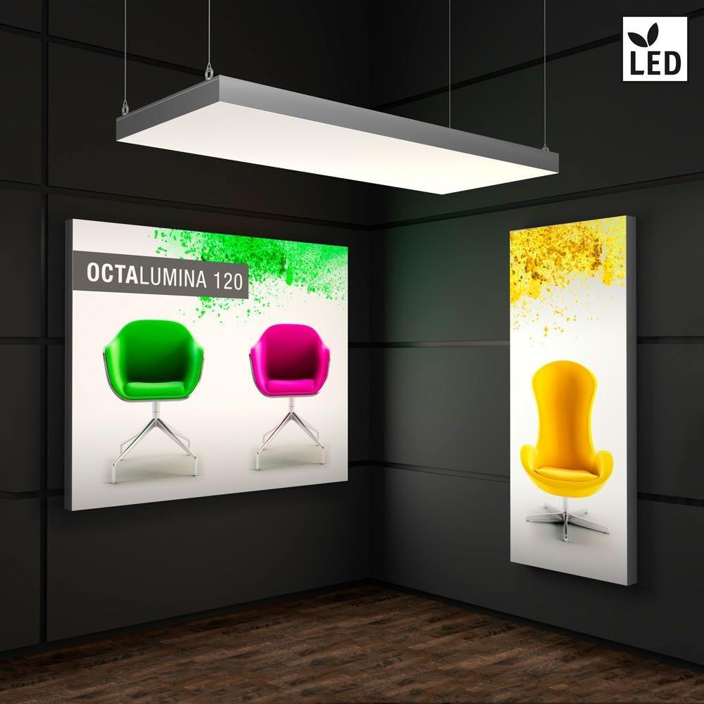 Mur lumineux LED ''Octalumina 120'' avec impression inclus-1000 x 2480 mm