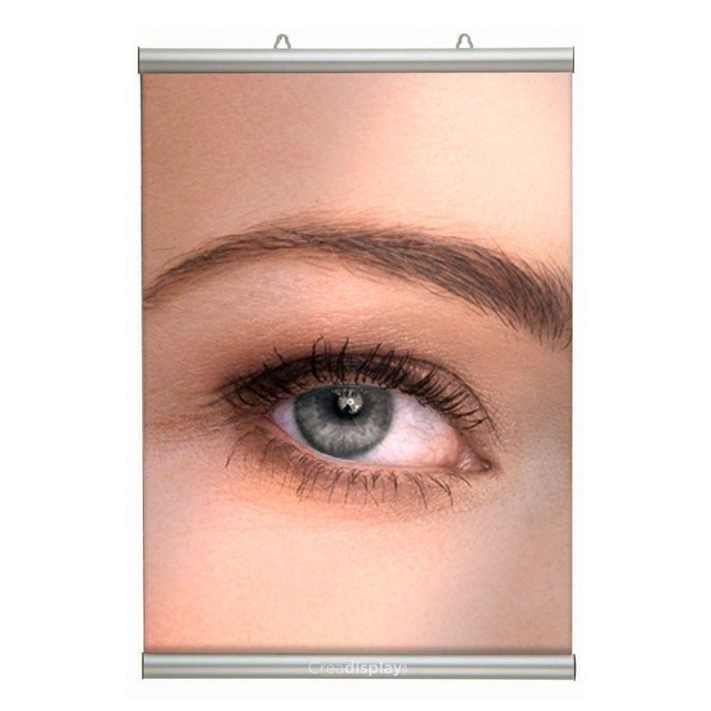 Porte-affiche clic-clac à suspendre 210 mm