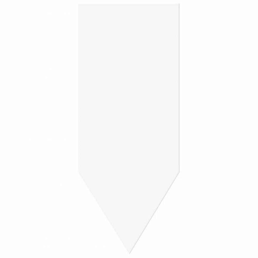 Flèche sans attachement 'NEUTRE' noir 8x20cm par 10