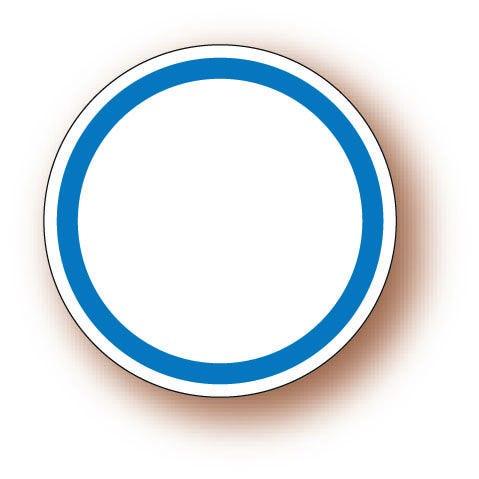 Etiquette adhésive en papier blanc diamètre 3cm par 500