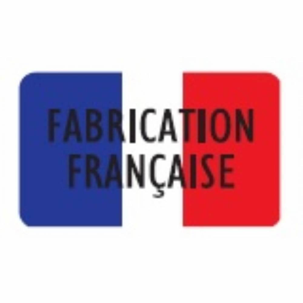 Etiquette adhésive en papier Fabrication française multicolor 3,2x1,9cm par 1000