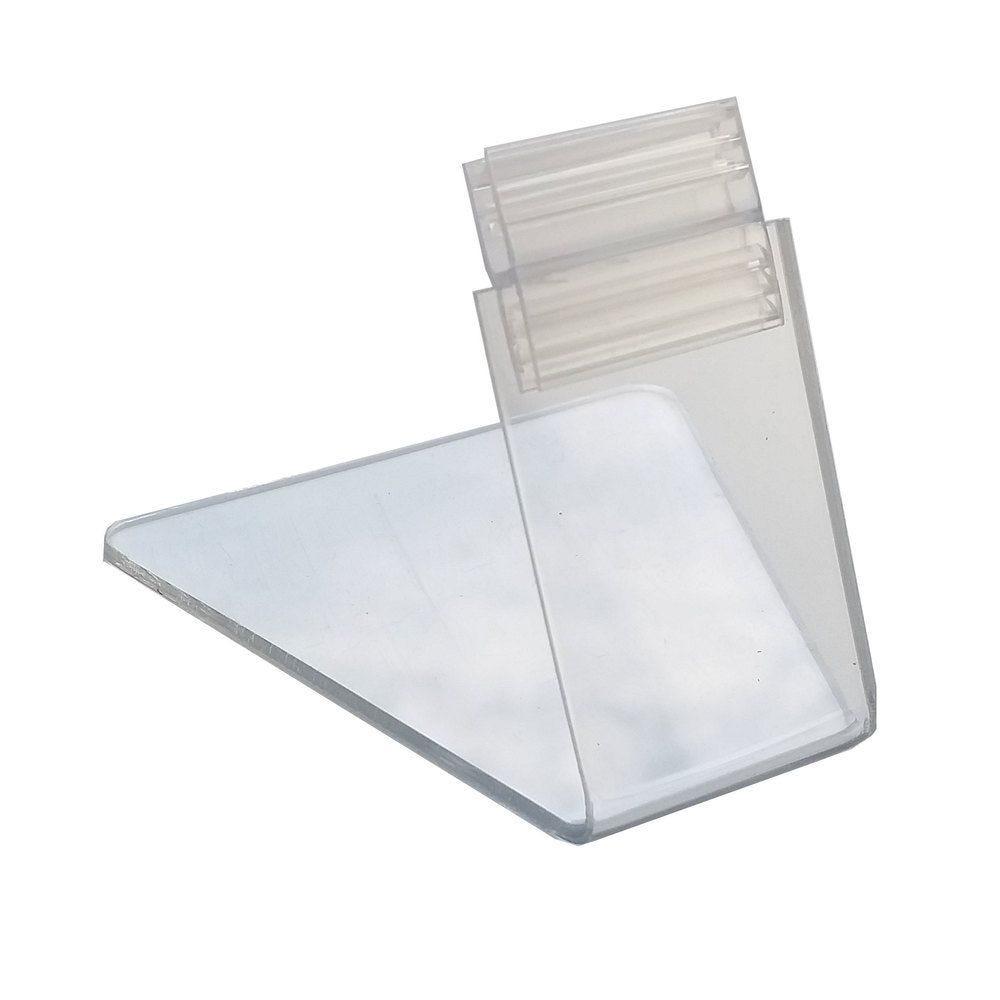 Pied porte-étiquette 5cm 'PIED' transparent par 25