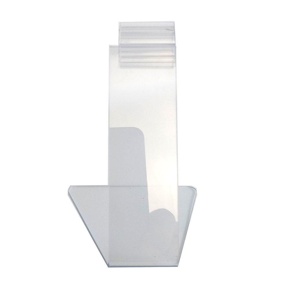Pied porte-étiquette 9cm 'PIED' transparent par 25