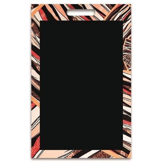 Panneau amovible ardoisé sans attaches 'PORTOFINO' multicolore 50x70cm à l'unité