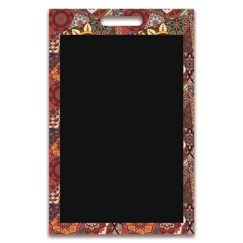 Panneau amovible ardoisé  'PONDICHERY' multicolore 50x70cm à l'unité