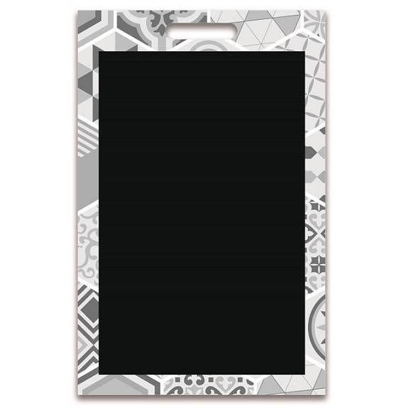 Panneau amovible ardoisé sans attaches 'PARIS' blanc 50x70cm à l'unité