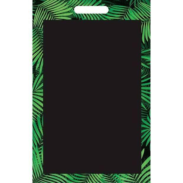 Panneau amovible ardoisé sans attaches 'JUNGLE' vert 50x70cm à l'unité