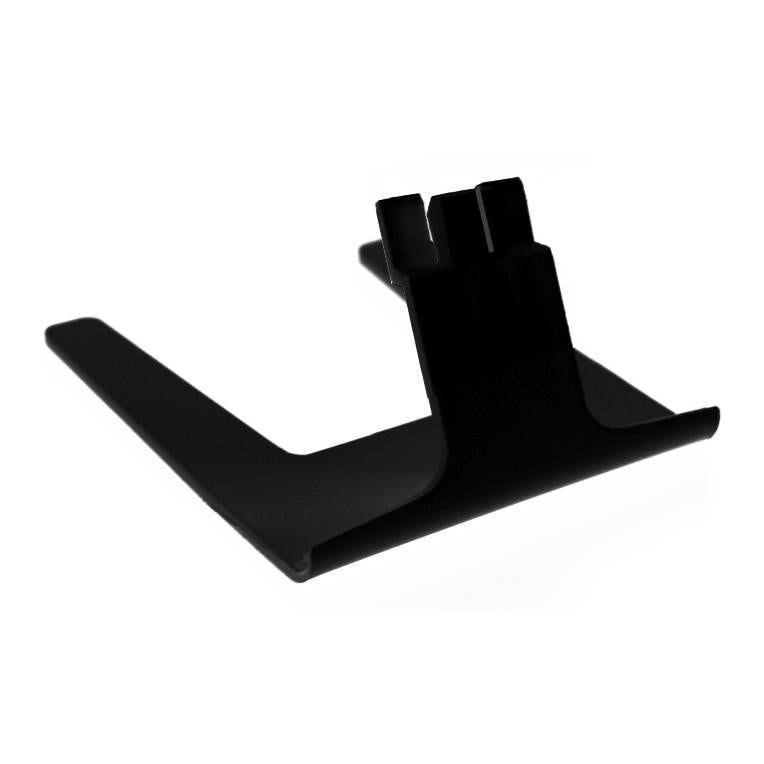 Pied porte-étiquette noir hauteur 2,5cm noir par 25