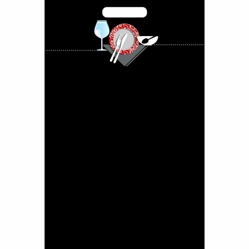 Panneau amovible ardoisé à poignée 'GINO' noir 60x80cm à l'unité