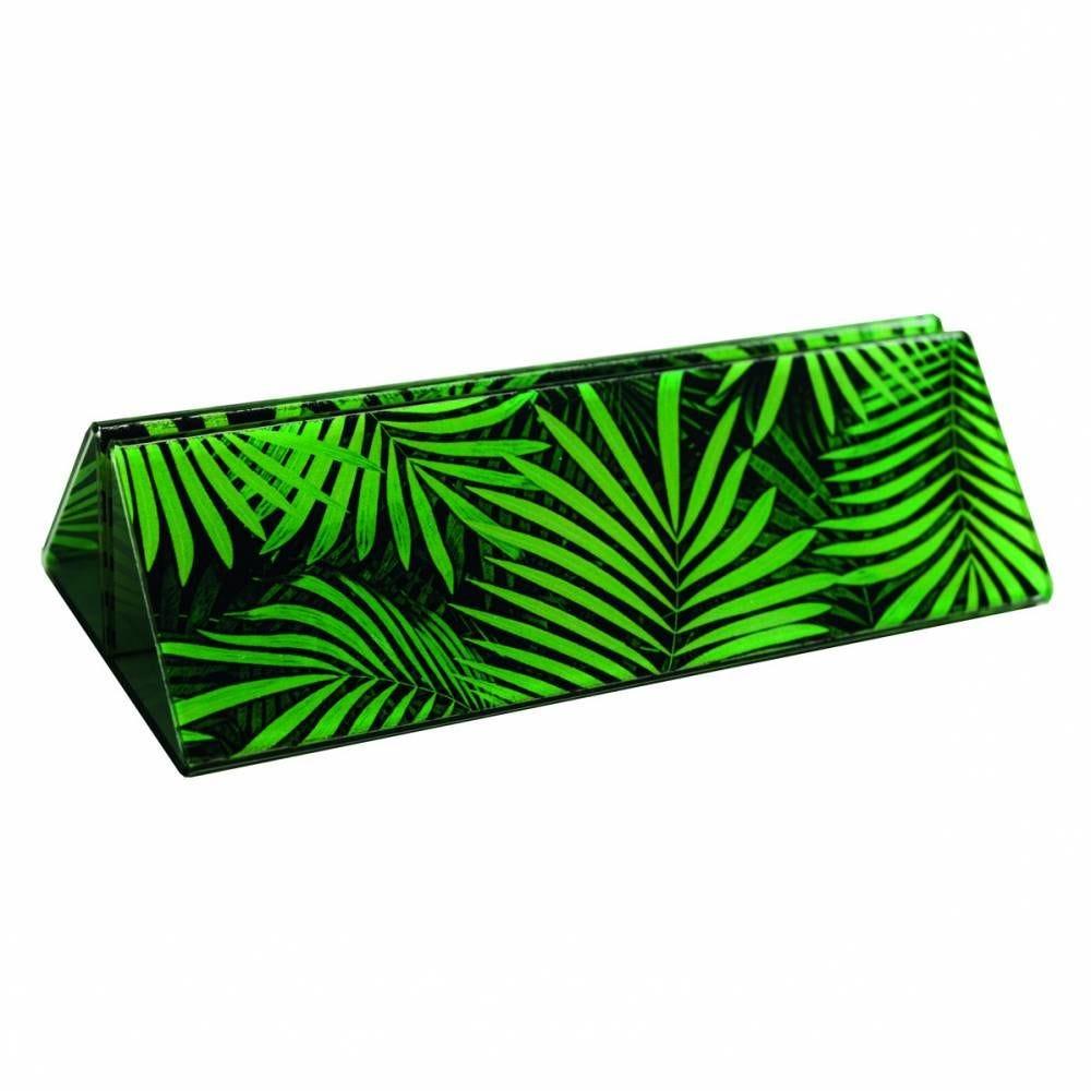 Pied socle 'JUNGLE' vert 15x4cm par 3