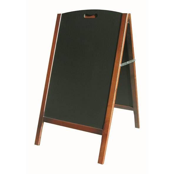 Chevalet de trottoir 'BASTILLE' bois 65x230cm à l'unité