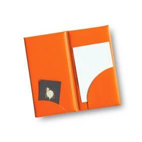 Présentoir addition 'BRIO' orange 11x22cm à l'unité