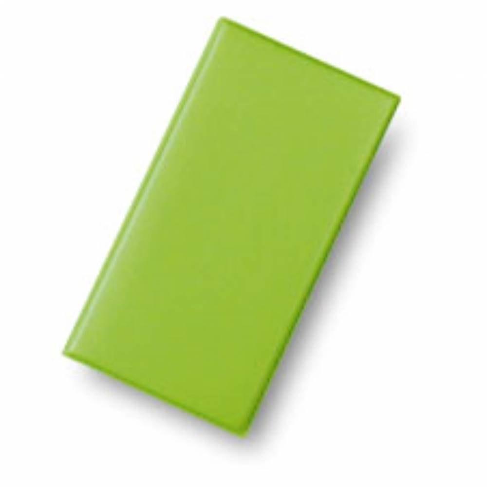 Présentoir addition 'BRIO' vert anis 11x22cm à l'unité