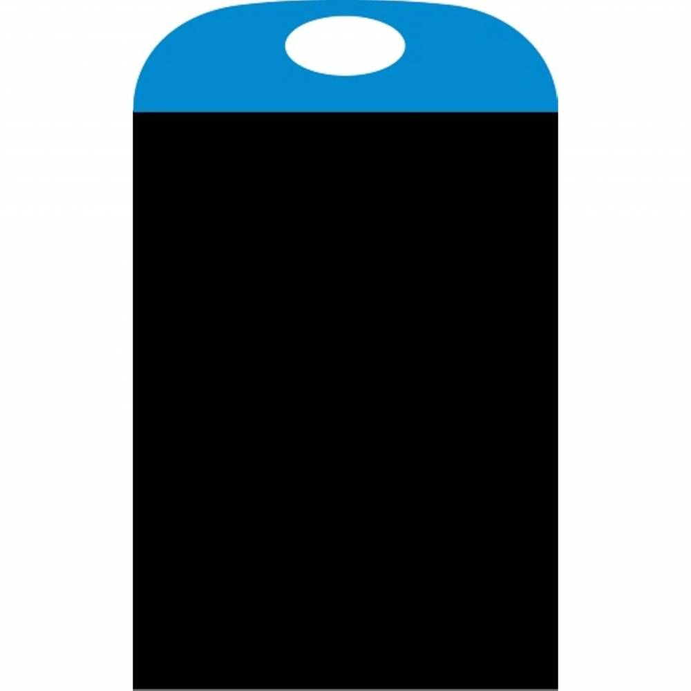 Panneau amovible ardoisé 'PORTACOLOR' bleu 40x70cm à l'unité