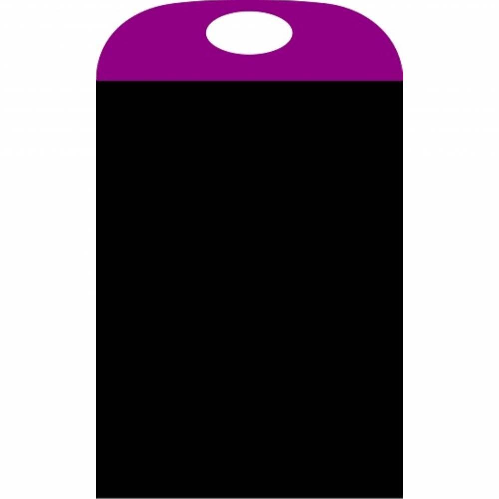 Panneau amovible ardoisé 'PORTACOLOR' violet 40x70cm à l'unité