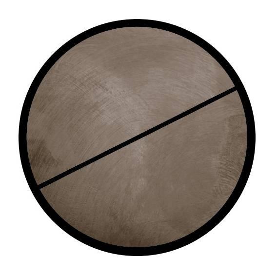 Bock 'BOCK' Concrete gris 11xcm par 3