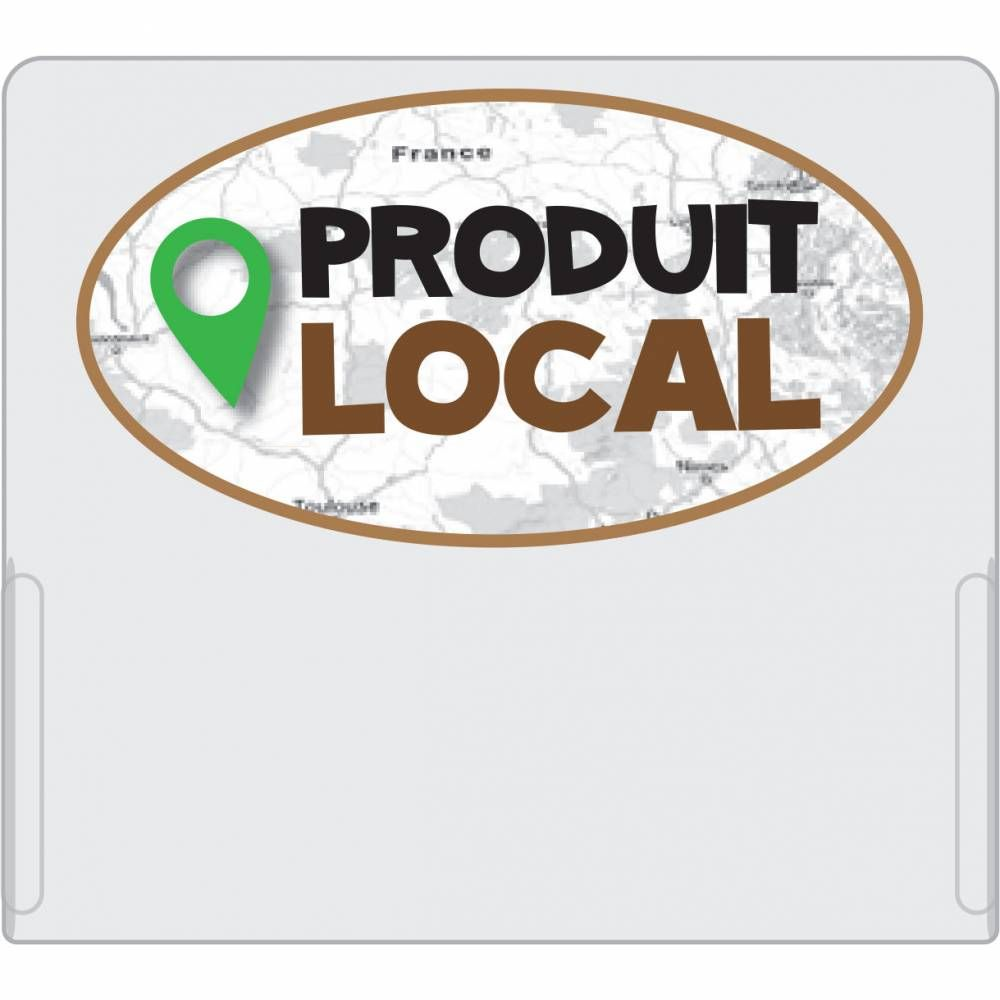 Casquette GM Produit local pour étiquette perforée Dynamik - par 10