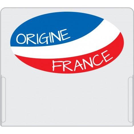 Casquette PM Origine France pour étiquette perforée Dynamik - par 10