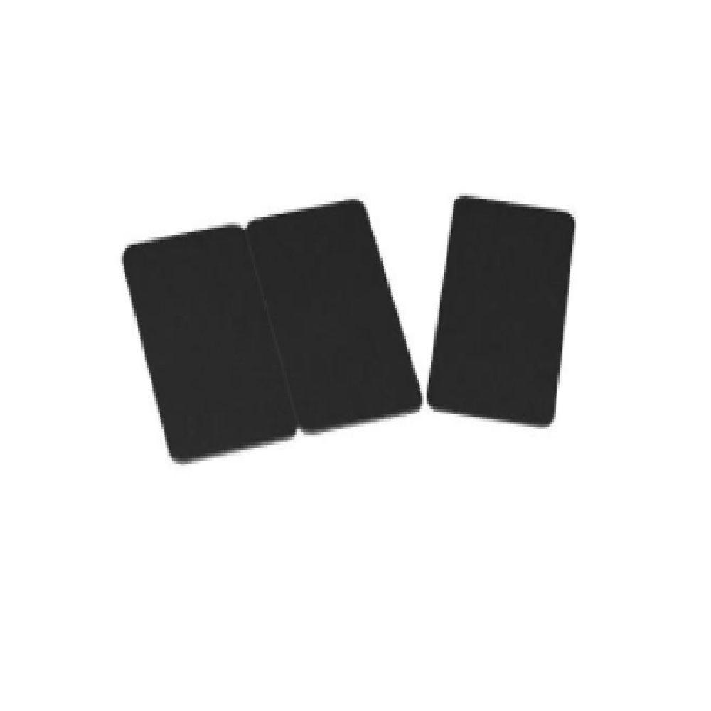 Cartes noires PVC 30 mil - par 100