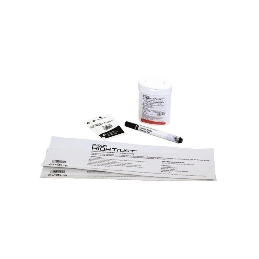 Kit nettoyage Edikioadvanced : 2 Cartes en T, 2 adhésives, 1 pen & lingettes