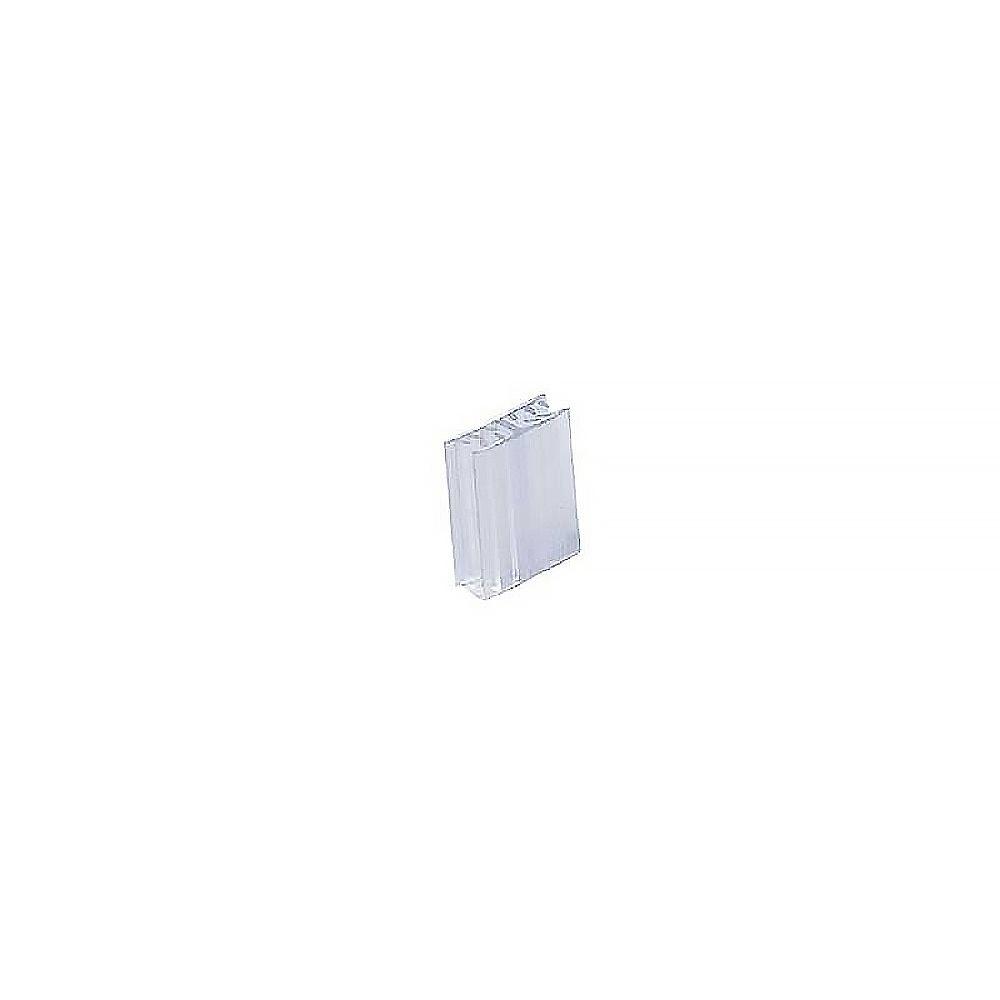 Grippeur clip plastique translucide fixation pour imprimante Edikio - par 25