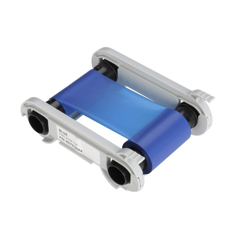 Ruban pour imprimante Edikio bleu 1000 impressions