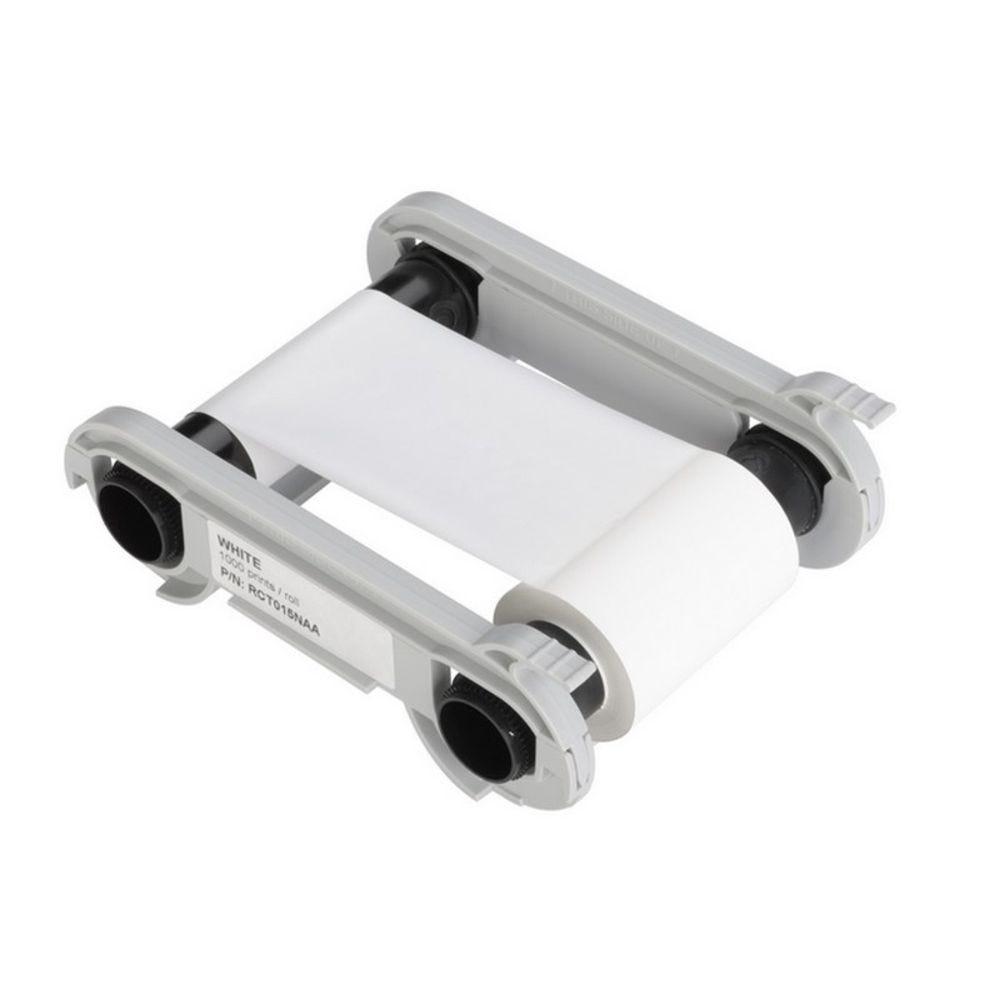 Ruban pour imprimante Edikio blanc 1000 impressions