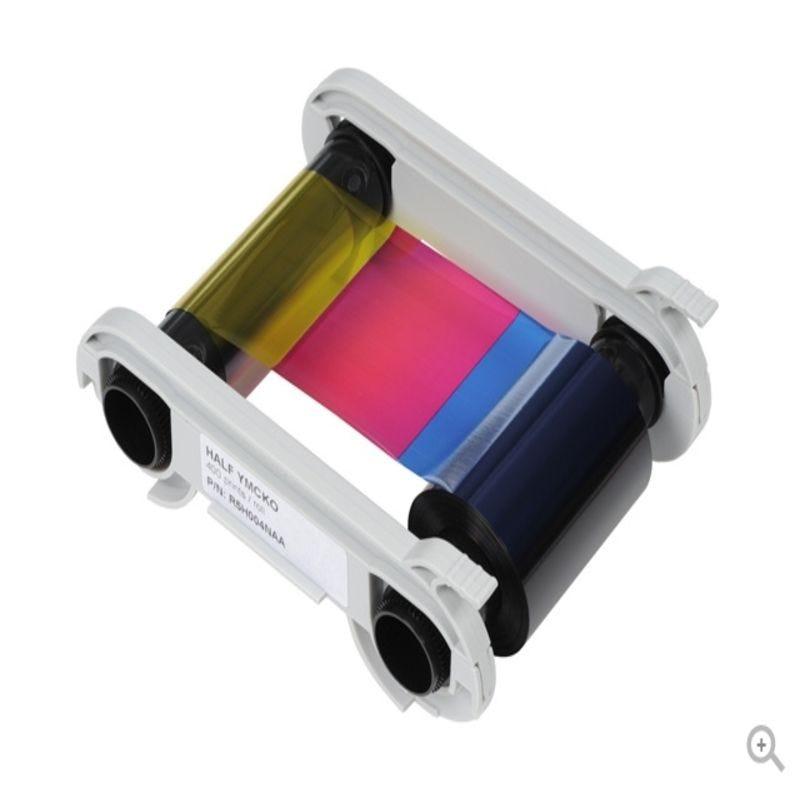 Ruban pour imprimante Edikio couleurs 1/2 YMCKO 400 impressions