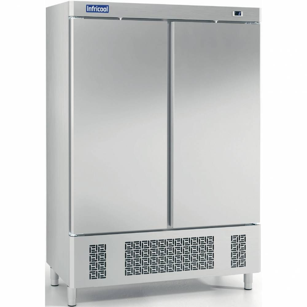 Armoire positive 2 ptes inox GN 2/1 (photo)