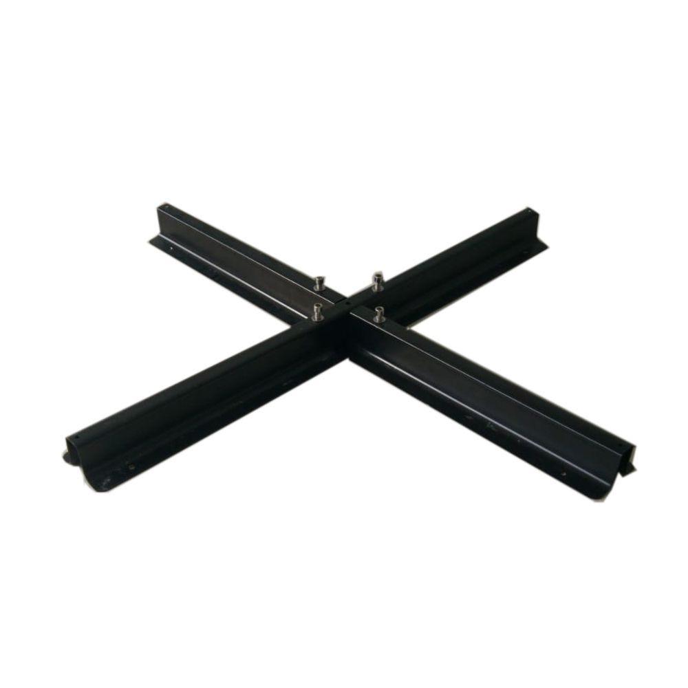 Pied/Embase pour parasol de terrasse en acier