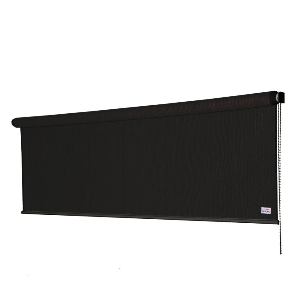 Store enrouleur - 240 x 98 cm - noir