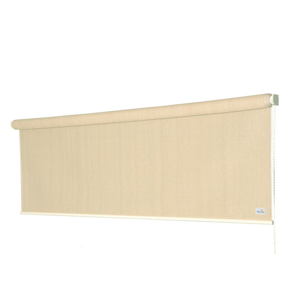 Store enrouleur - 240 x 248 cm - blanc
