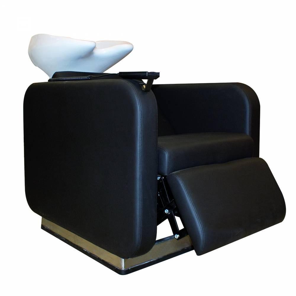 Bac à shampoing noir  - jean claude olivier - Coiffeur Barbier (photo)
