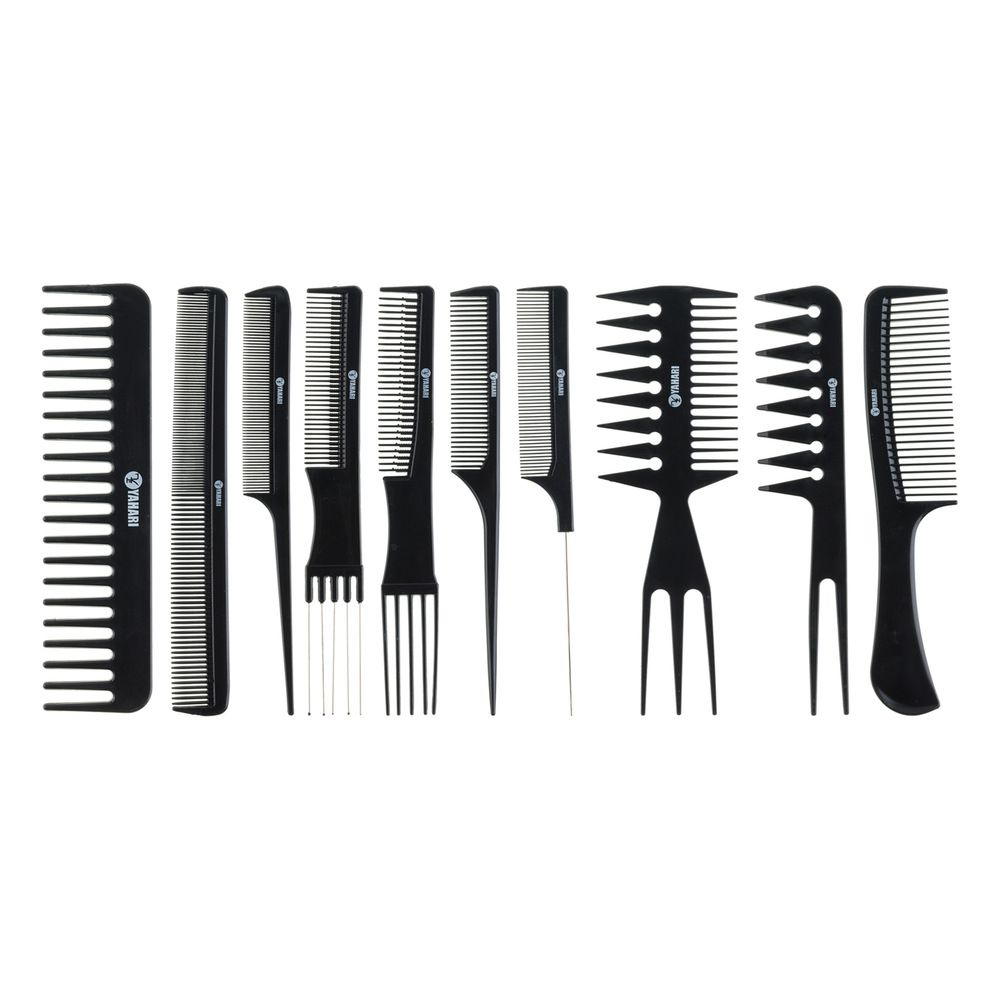 Set de 10 peignes professionels.  - Coiffeur Barbier (photo)