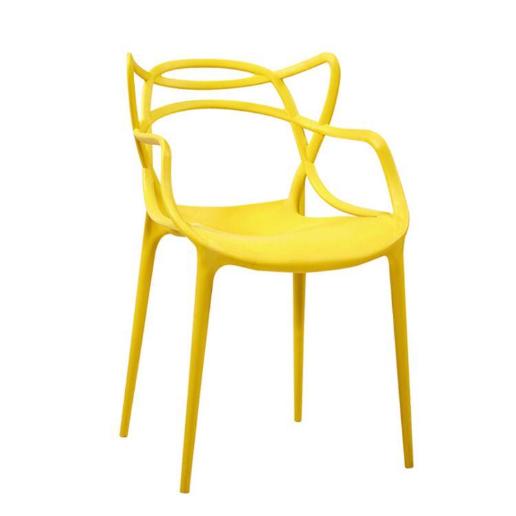 Chaise thonet jaune