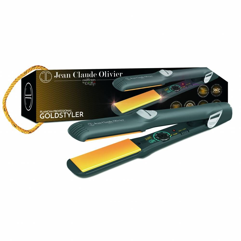 Fer à lisser gold premium - Coiffeur Barbier (photo)