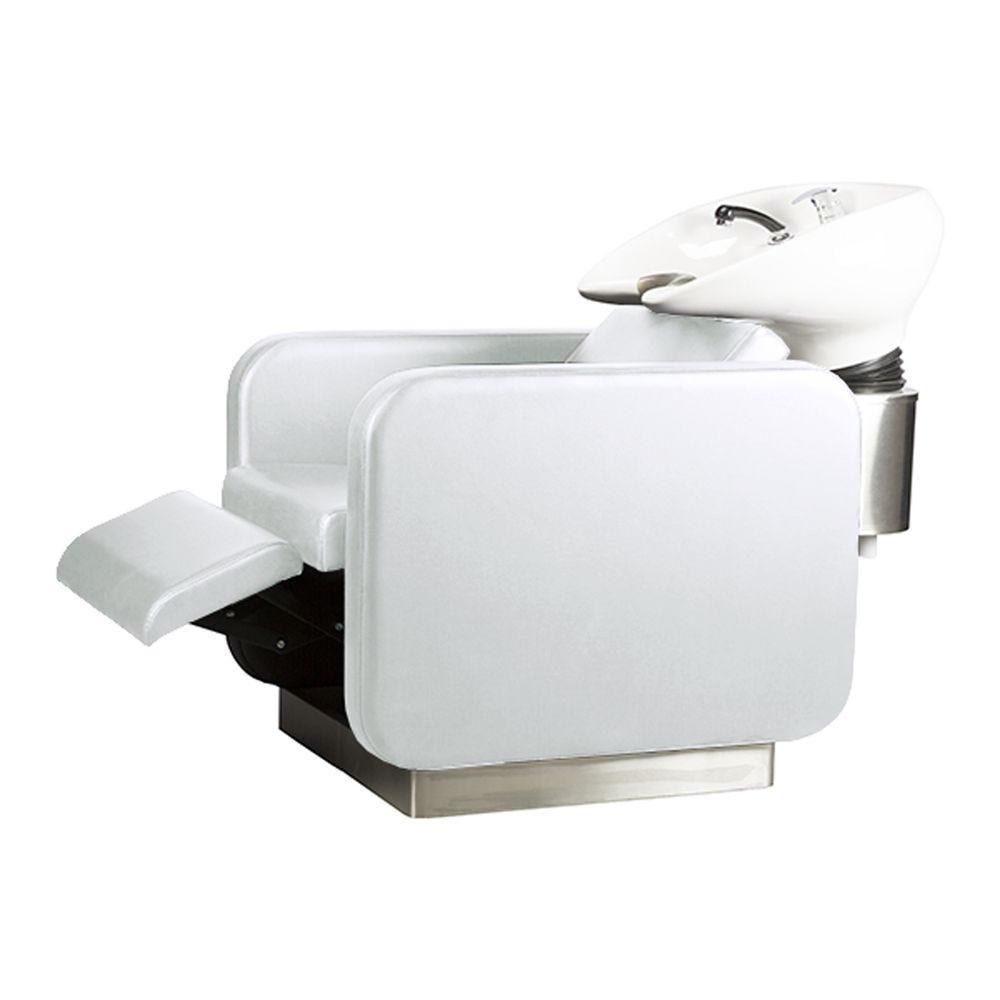 Bac à shampoing blanc - jean claude olivier - Coiffeur Barbier (photo)