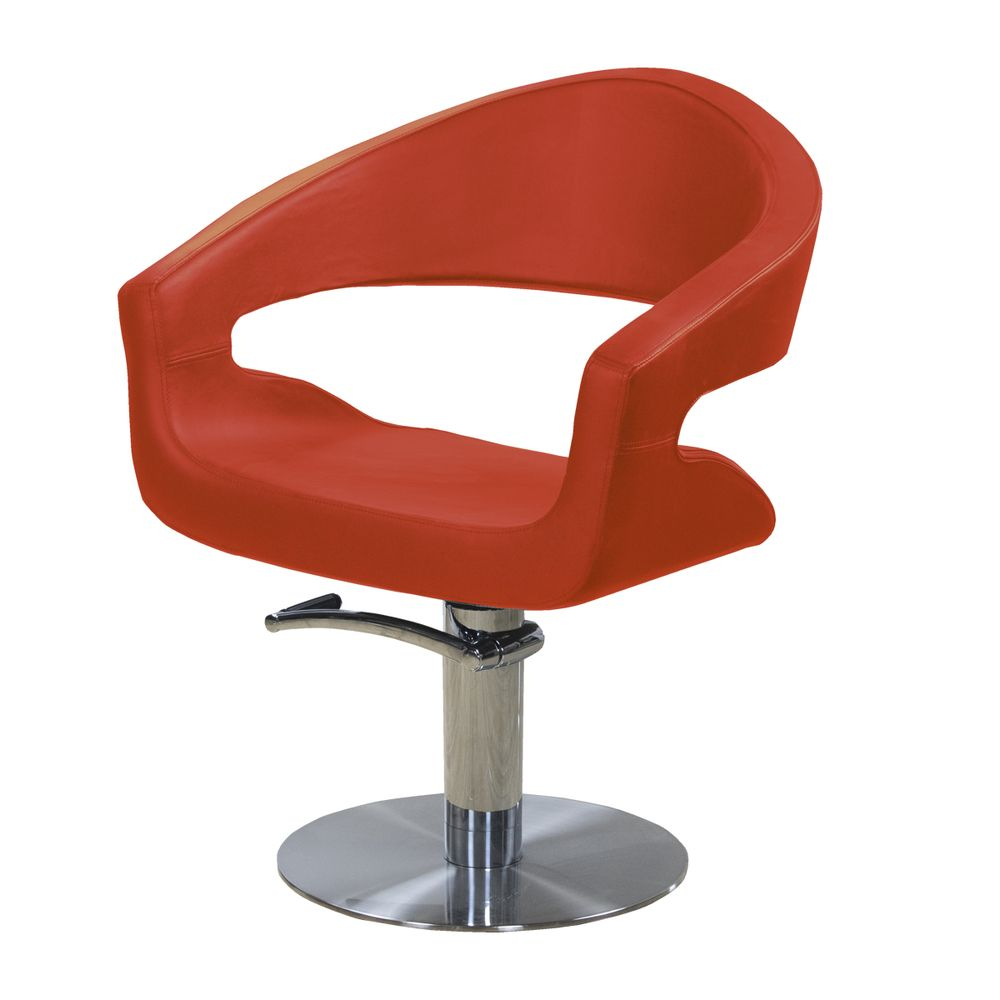 Fauteuil - rouge - gliss (photo)