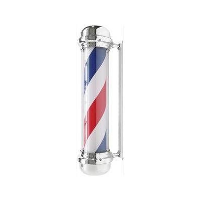 Barber pole - bleu, blanc, rouge