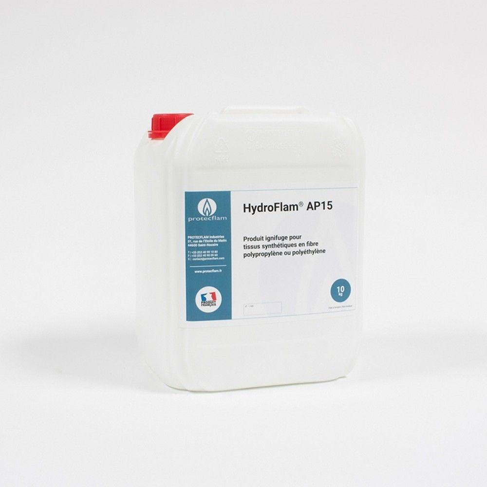 Hydroflam® AP15 - Solution ignifuge pour tissus synthétiques - 10 Kg
